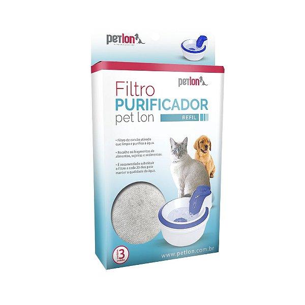 Refil Filtro Fonte Bebedouro Para Pets Purificador Pet Lon