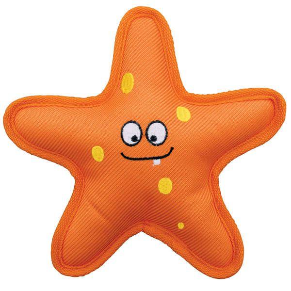 Brinquedo Para Cachorro Belly Flops Starfish Kong