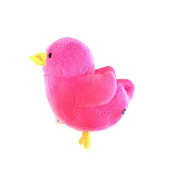 Brinquedos Para Cachorro Pelúcia Patinho Rosa Duki