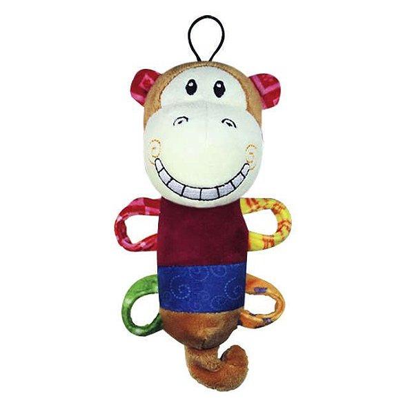 Brinquedo Para Cachorro Mordedor Pelúcia Plush Smile Monkey