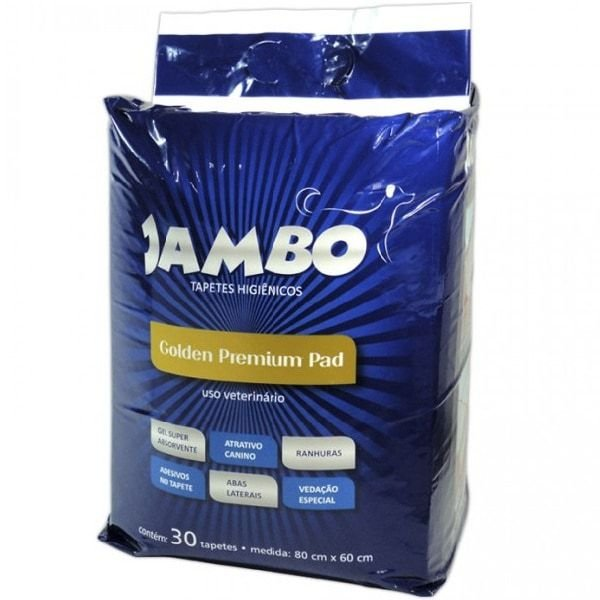 Tapete Higiênico Para Cachorro Golden Premium Jambo 30 und