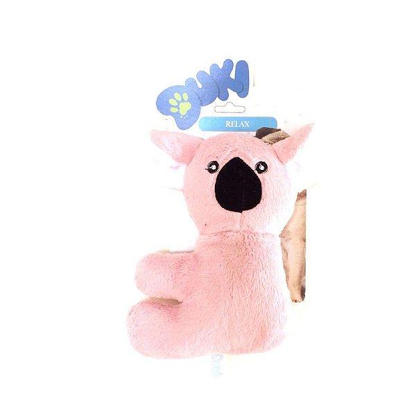 Brinquedo Para Cachorro Pelúcia Coala Rosa Duki