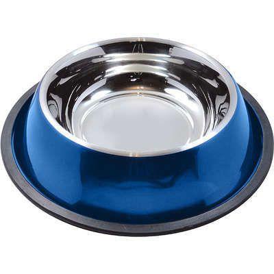 Comedouro e Bebedouro Antiderrapante Azul Jambo