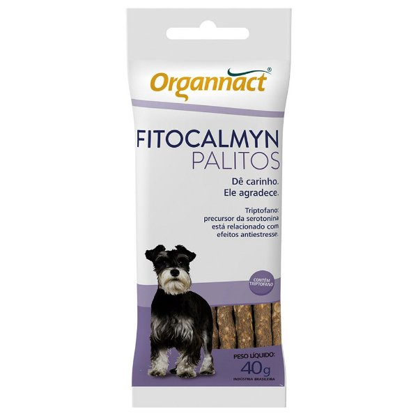 Suplemento Para Cachorro Organnact Fitocalmyn Palito 40g