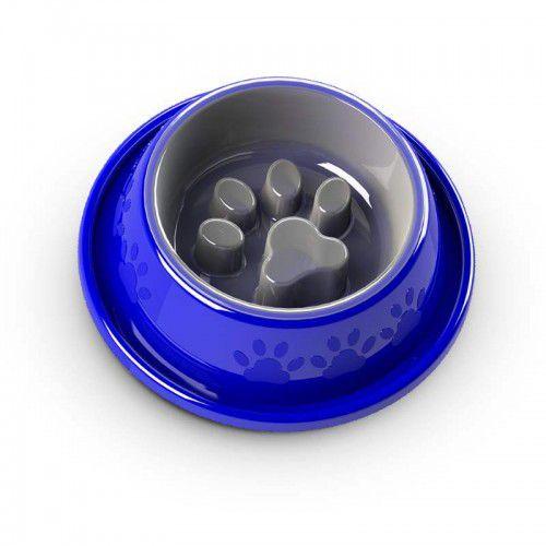 Comedouro Lento Coma Melhor Facility Azul