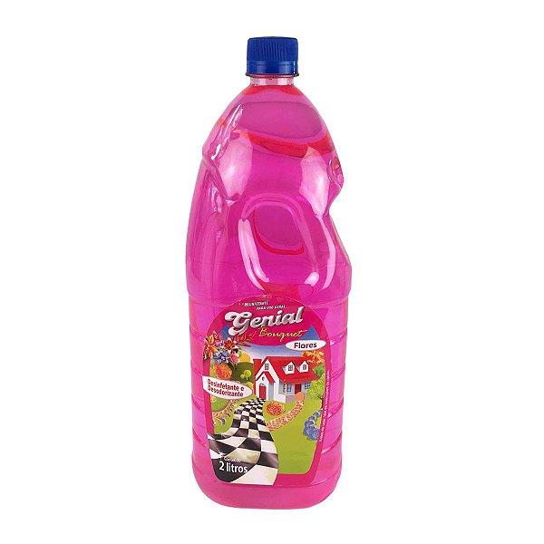 Desinfetante e Desodorizante Tira Xixi Genial Pet Flores