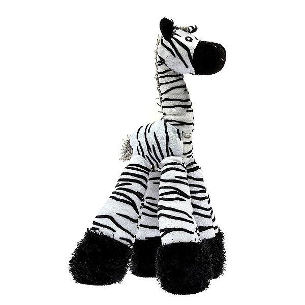 Brinquedos Para Cachorro Pelúcia PatchWork Pet Zebra