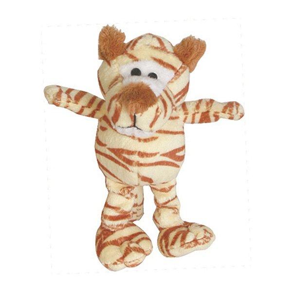 Brinquedos Para Cachorro Pelúcia PatchWork Pet Tigre Pequeno