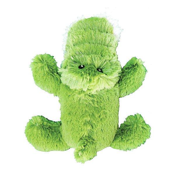Brinquedos Para Cachorro Pelúcia PatchWork Pet Jacaré Pequeno