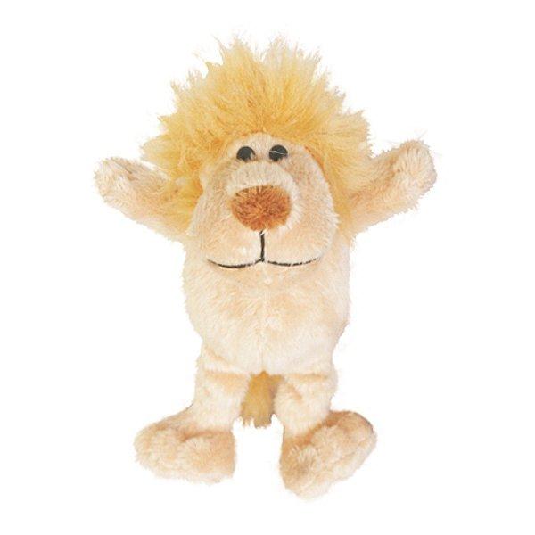 Brinquedos Para Cachorro Pelúcia PatchWork Pet Leãozinho Pequeno