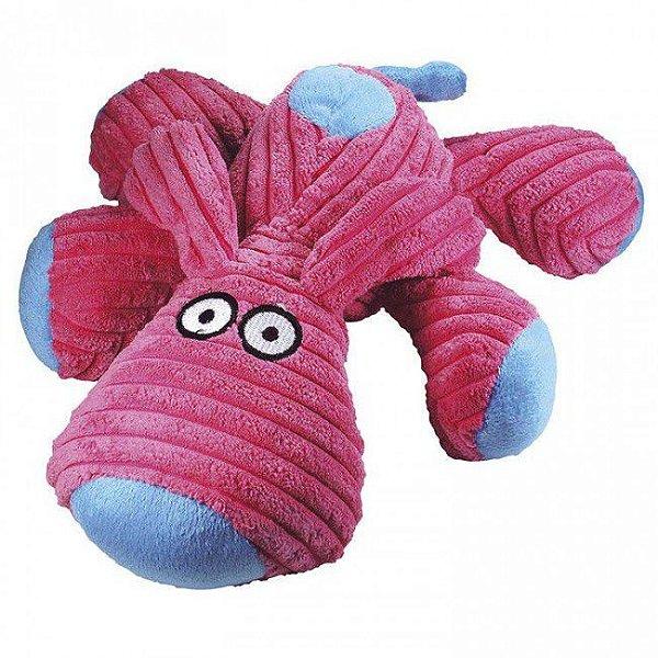 Brinquedo Para Cachorro Mordedor Pelúcia Dog Rosa