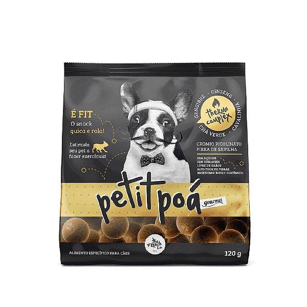 Petisco Para Cães  The French Co Petit Poá Termogênico 120g