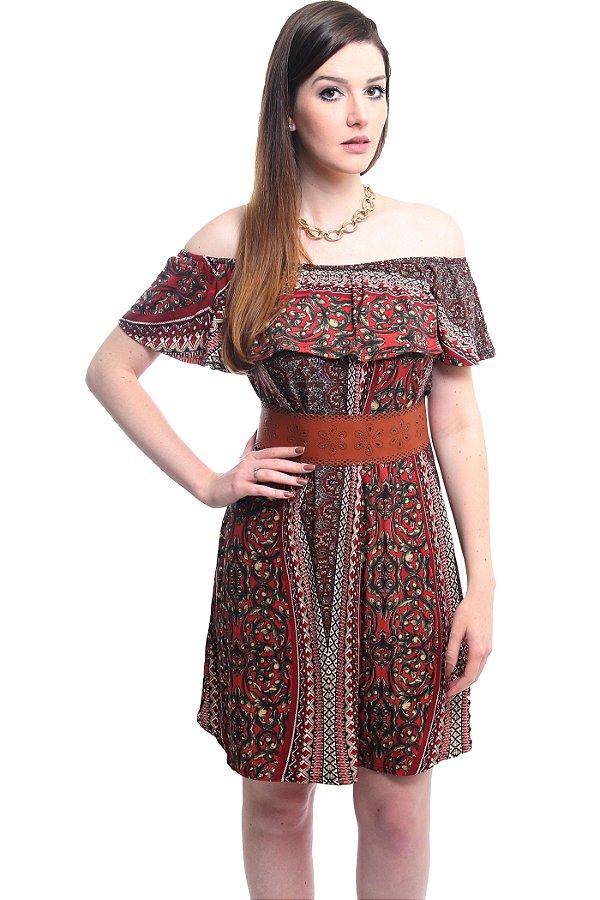 Vestido Ciganinha Vermelho