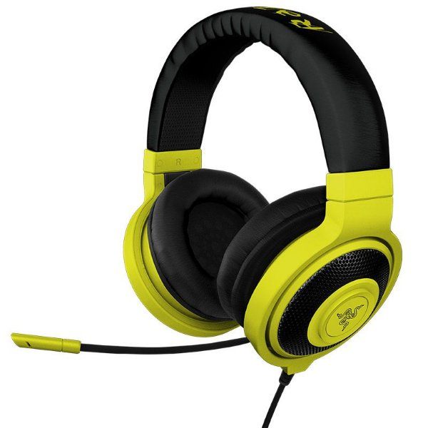 Fone Razer Kraken Pro Neon Yellow Headset