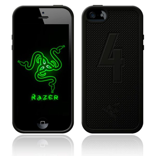 Capa para iPhone 5 e 5s Razer Case Battlefield 4 Edition