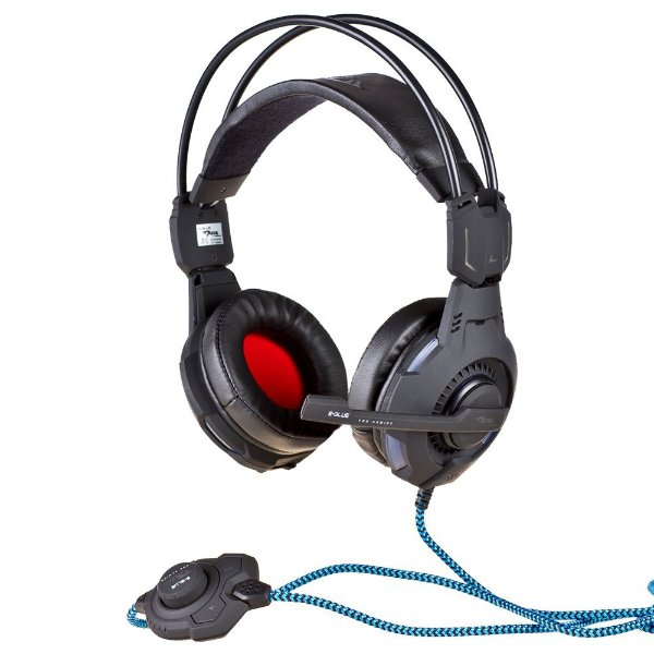Headset Gamer Iluminado Mazer Type-X Preto - E-BLUE