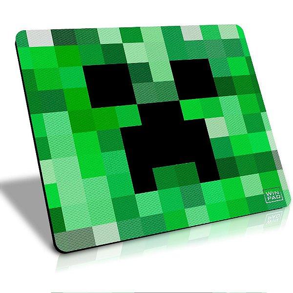 MousePad Winpad Minecraft Creeper Pixel Control Grande (45cm x 40cm x 0,3cm)