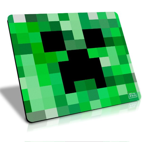 Winpad Minecraft Creeper Pixel Speed Grande (45x40)