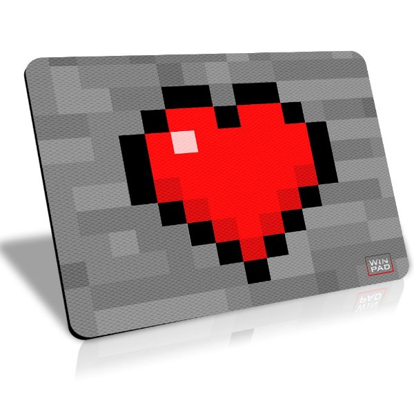 Winpad Minecraft I love my craft Control Médio (36x28)