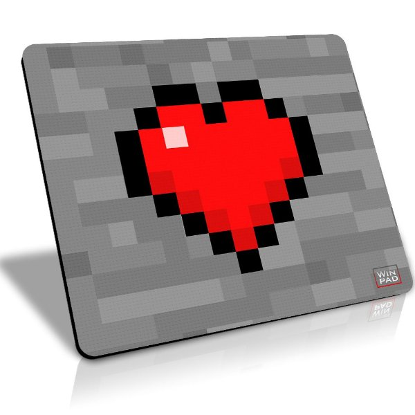 Winpad Minecraft I love my craft Speed Grande (45x40)