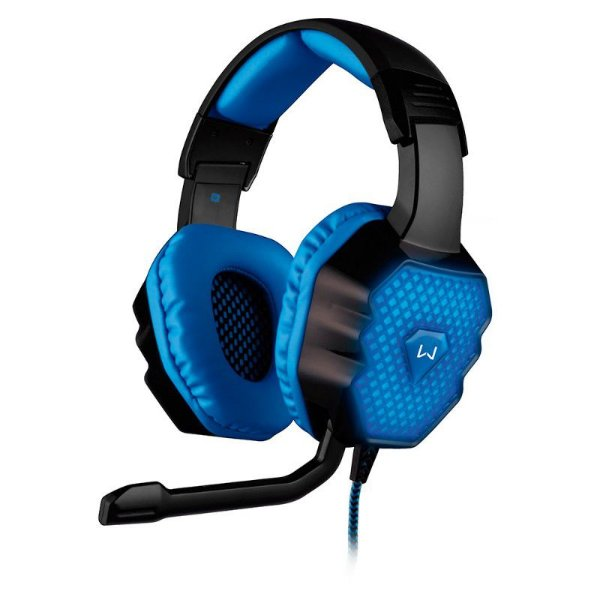 Headset Gamer Multilaser Warrior 7.1 3D - PH121