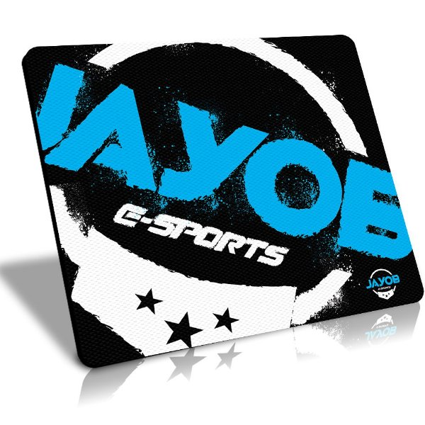 Mousepad Winpad Jayob e-Sports Grande Control (45cm x 40cm x 0,3cm)