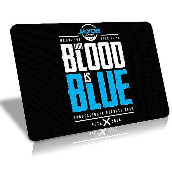 Mousepad Winpad Jayob Our Blood is Blue Médio Speed (36cm x 28cm x 0,3cm)