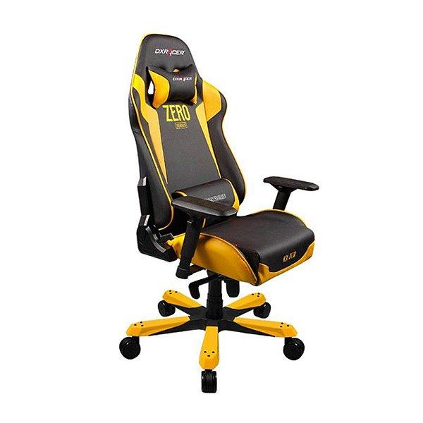 Cadeira DXRacer K-Series OH/KF00/NY Amarela Zero