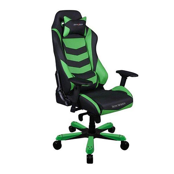 Cadeira DXRacer Iron Series OH/IF66/NE Verde