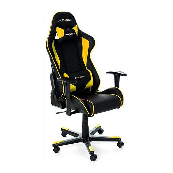 Cadeira DXRacer F-Series OH/FE08/NY Amarela