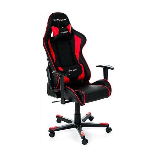 Cadeira DXRacer F-Series OH/FE08/NR Vermelha