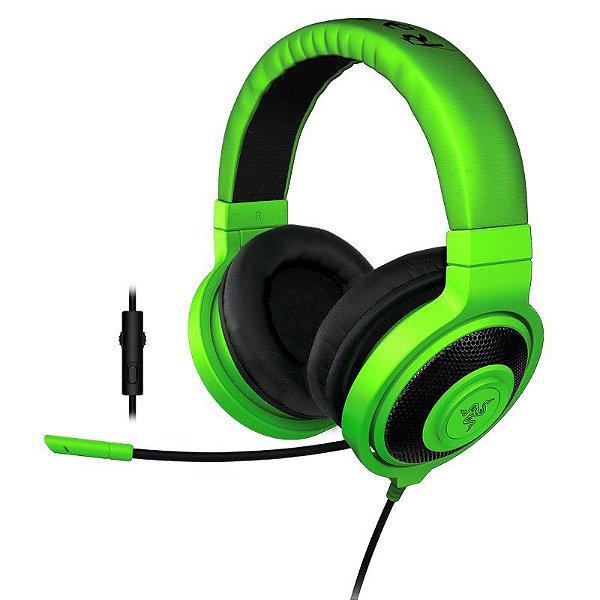Razer Kraken PRO Green 2015 com Microfone
