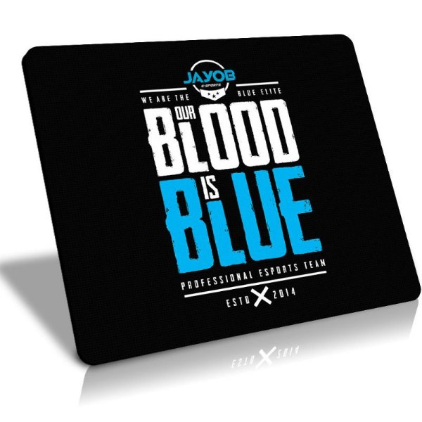 Mousepad Winpad Jayob Our Blood is Blue Grande Speed 45x40cm