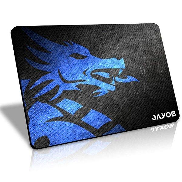 Mousepad Jayob DMBlue Médio Control - (36cm x 28cm x 0,3cm)