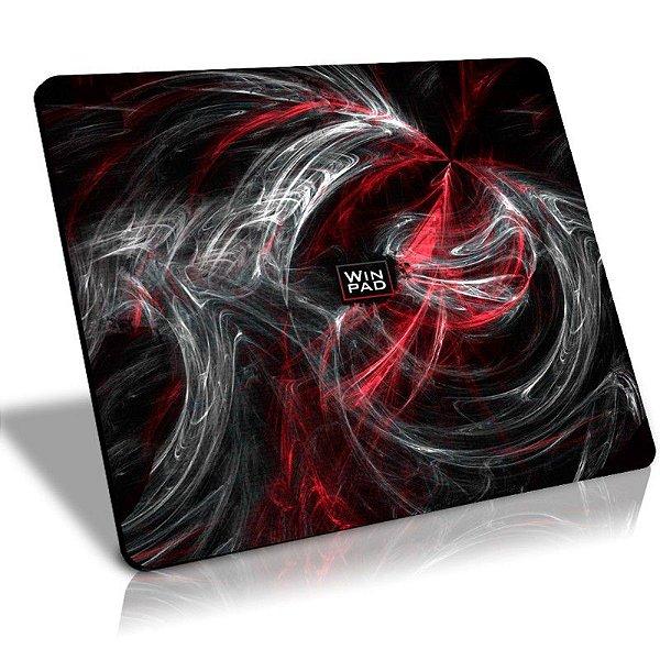 Mousepad Gamer WinPad AURA Red Grande Speed (45cm x 40cm x 0.3cm)