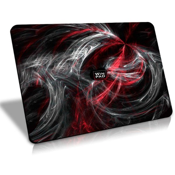Mousepad Gamer WinPad AURA Red Médio Speed (36cm x 28cm x 0.3cm)