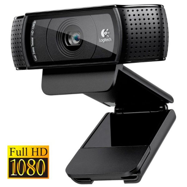 Webcam Logitech HD Pro C920 Full HD 1080p