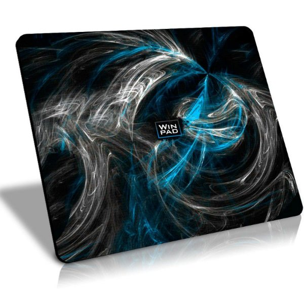 Mousepad Gamer WinPad AURA Blue Grande Speed (45cm x 40cm x 0.3cm)