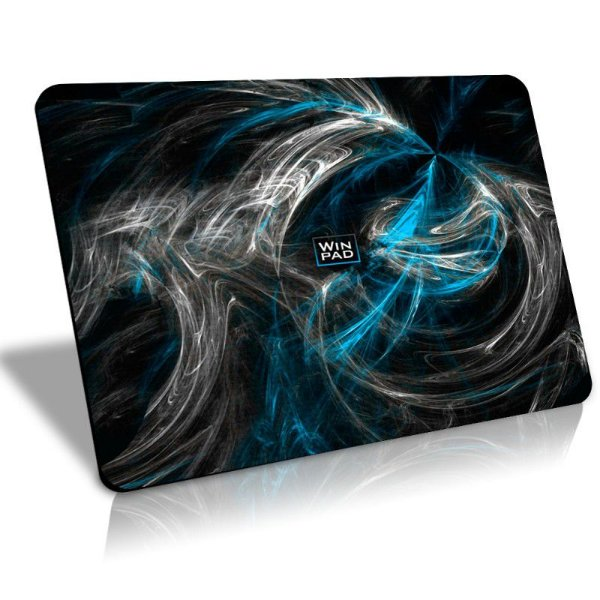 Mousepad Gamer WinPad AURA Blue Médio Speed (36cm x 28cm x 0.3cm)