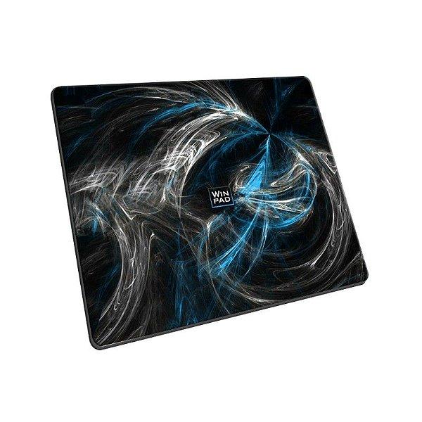 Mousepad Gamer WinPad AURA Blue Pequeno Control (30cm x 21cm x 0.3cm)