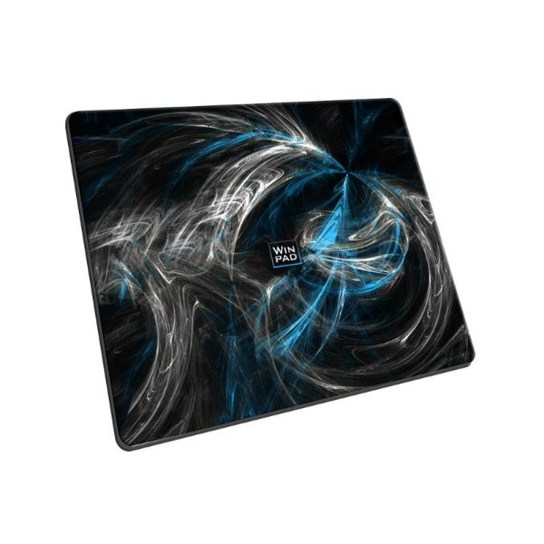 Mousepad Gamer WinPad AURA Blue Pequeno Speed (30cm x 21cm x 0.3cm)