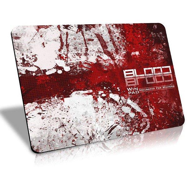 Mousepad Gamer WinPad Blood Médio Speed (36cm x 28cm x 0,3cm)