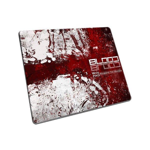 Mousepad Gamer WinPad Blood Pequeno Speed (30cm x 21cm x 0,3cm)