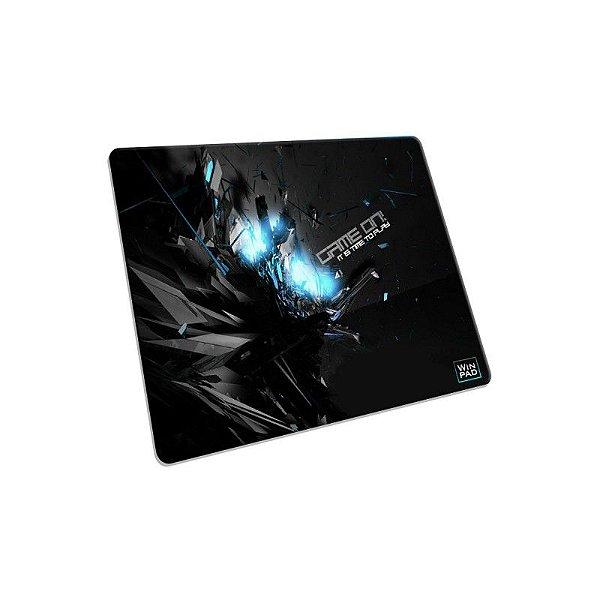 Mousepad Gamer WinPad GameON! Blue Mini Control (23cm x 19cm x 0.3cm)