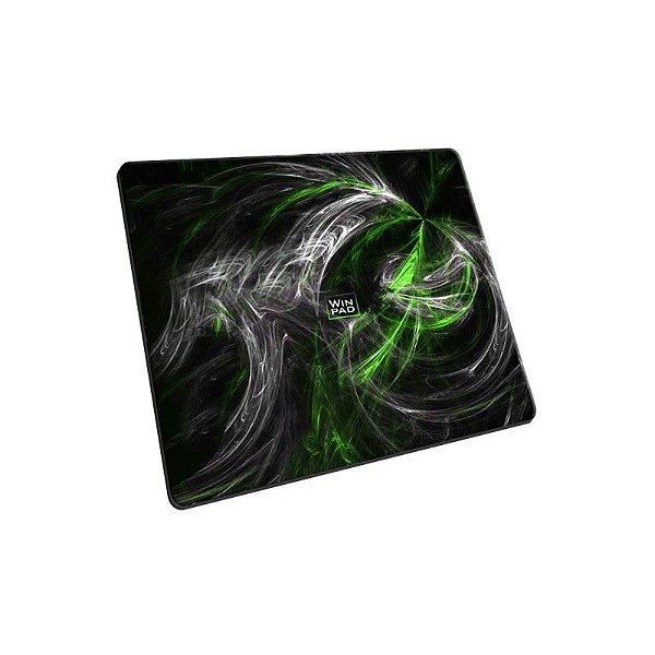 Mousepad Gamer WinPad AURA Green Mini Control (23cm x 19cm x 0,3cm)