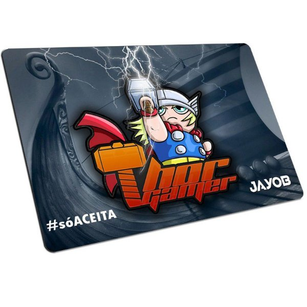 Mousepad Jayob Thor Gamer (Mini) 23cm X 19cm - Speed