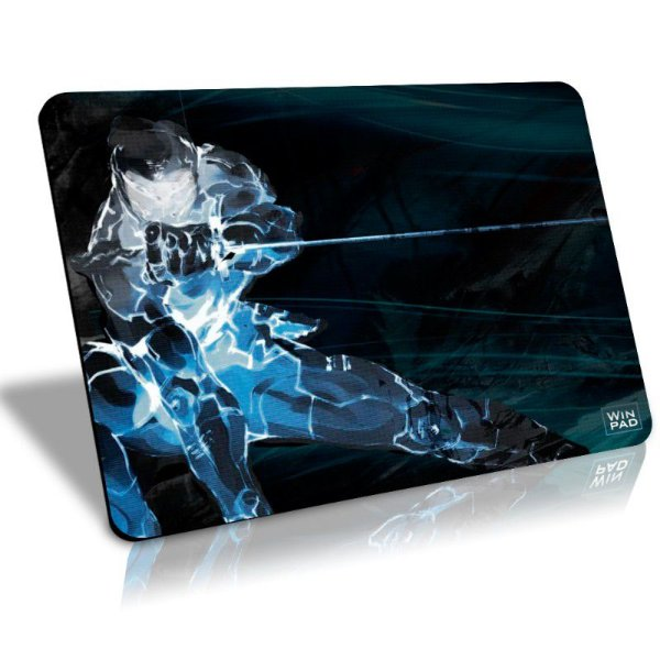 Mousepad Gamer WinPad Eliminate Médio Speed  (36cm x 28cm x 0,3cm)