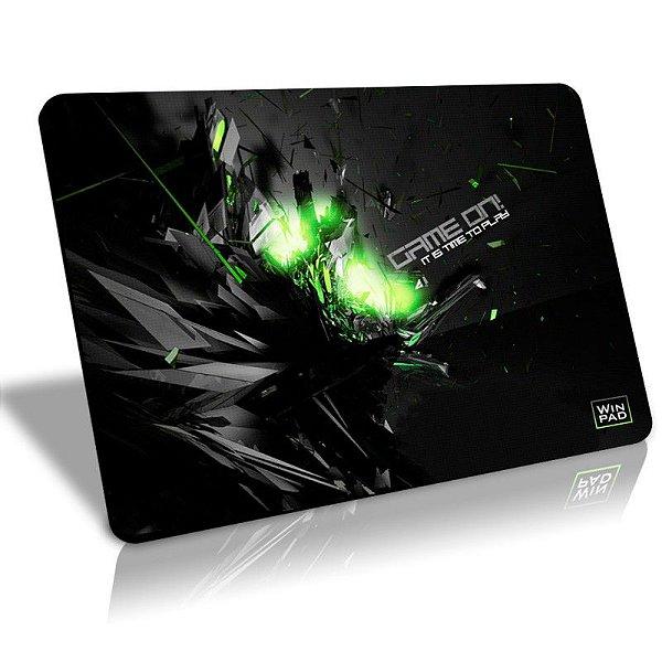 Mousepad Gamer WinPad GameON! Médio Speed  (36cm x 28cm x 0,3cm)