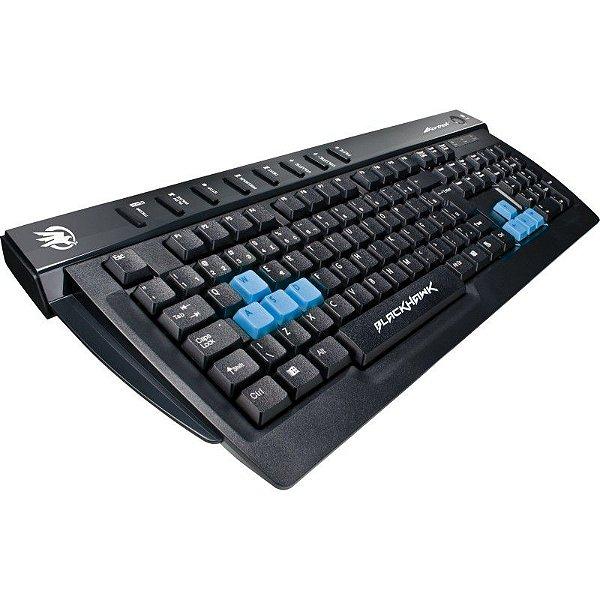 Teclado Gamer Multimídia Fortrek BLACKHAWK GK-702 (ABNT2)