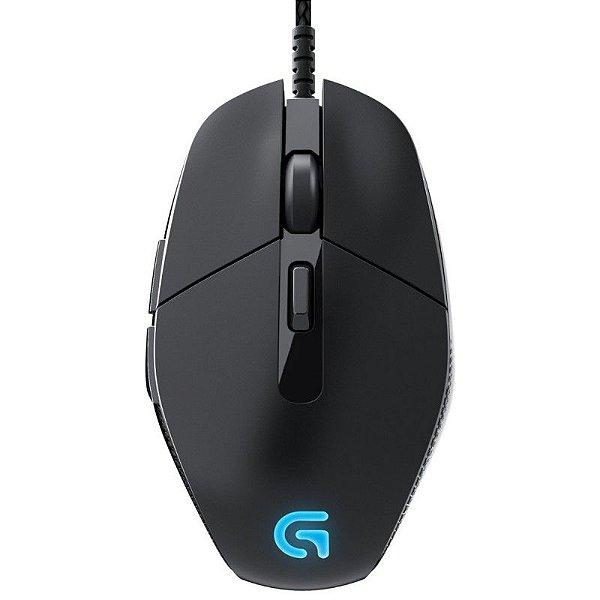 Mouse Logitech G303 Daedalus Apex 12000 DPI (Iluminação RGB)